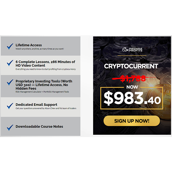 Cryptocurrency Investing Course: Crypto Current™